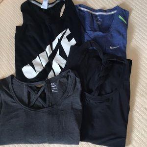 Nike and Gapfit tank top bundle